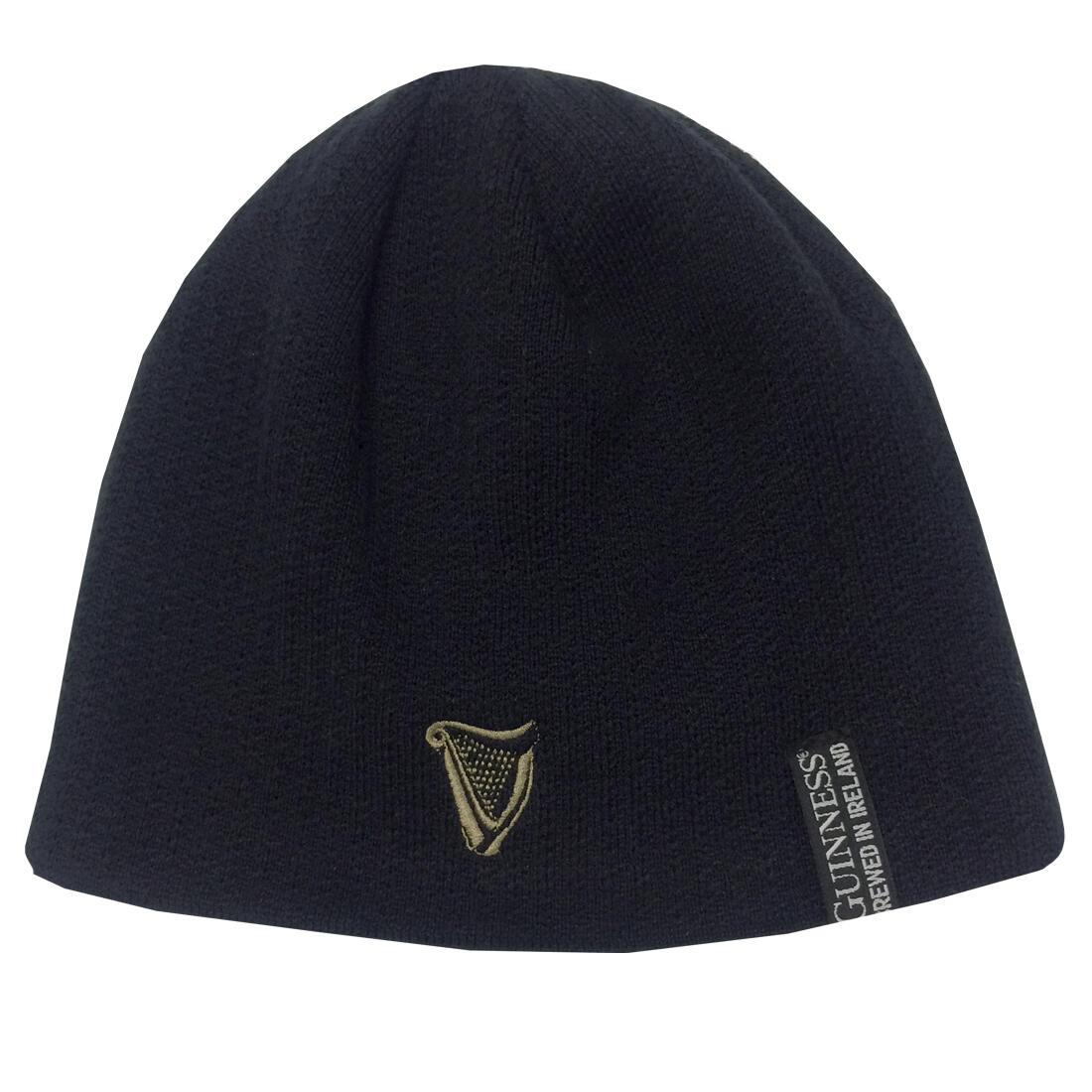 Berretto Guinness Nero in Materiale Riciclato - Viaggiare in Irlanda