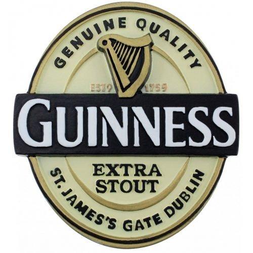 Calamita Guinness a Forma di Etichetta Guinness - Viaggiare in Irlanda