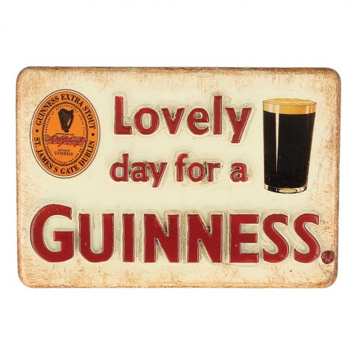 Calamita Guinness in Resina 'Lovely Day For A Guinness' - Viaggiare in Irlanda
