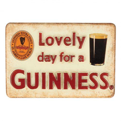 Calamita Guinness in Resina 'Lovely Day For A Guinness' - Viaggiare in Irlanda