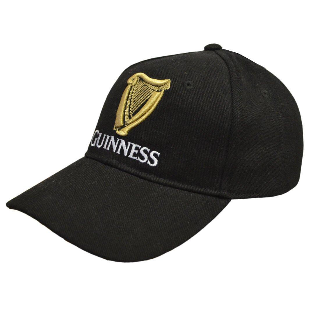 Cappellino Guinness nero con Logo Ufficiale - Viaggiare in Irlanda