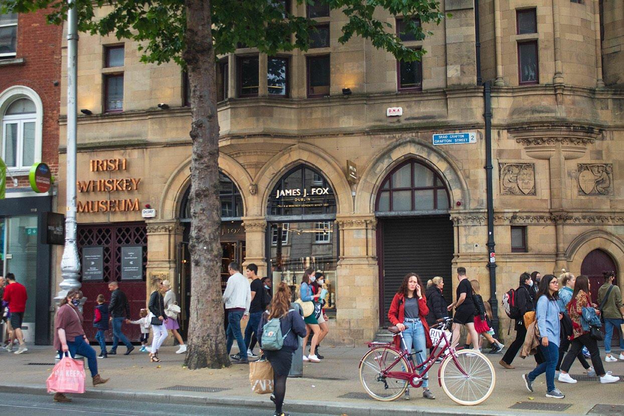 Grafton Street - Viaggiare in Irlanda