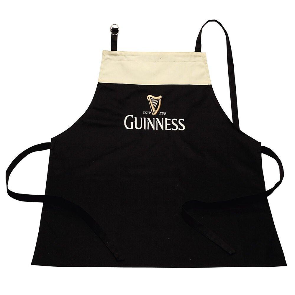 Grembiule Guinness stile pinta con tracolla regolabile - Viaggiare in Irlanda