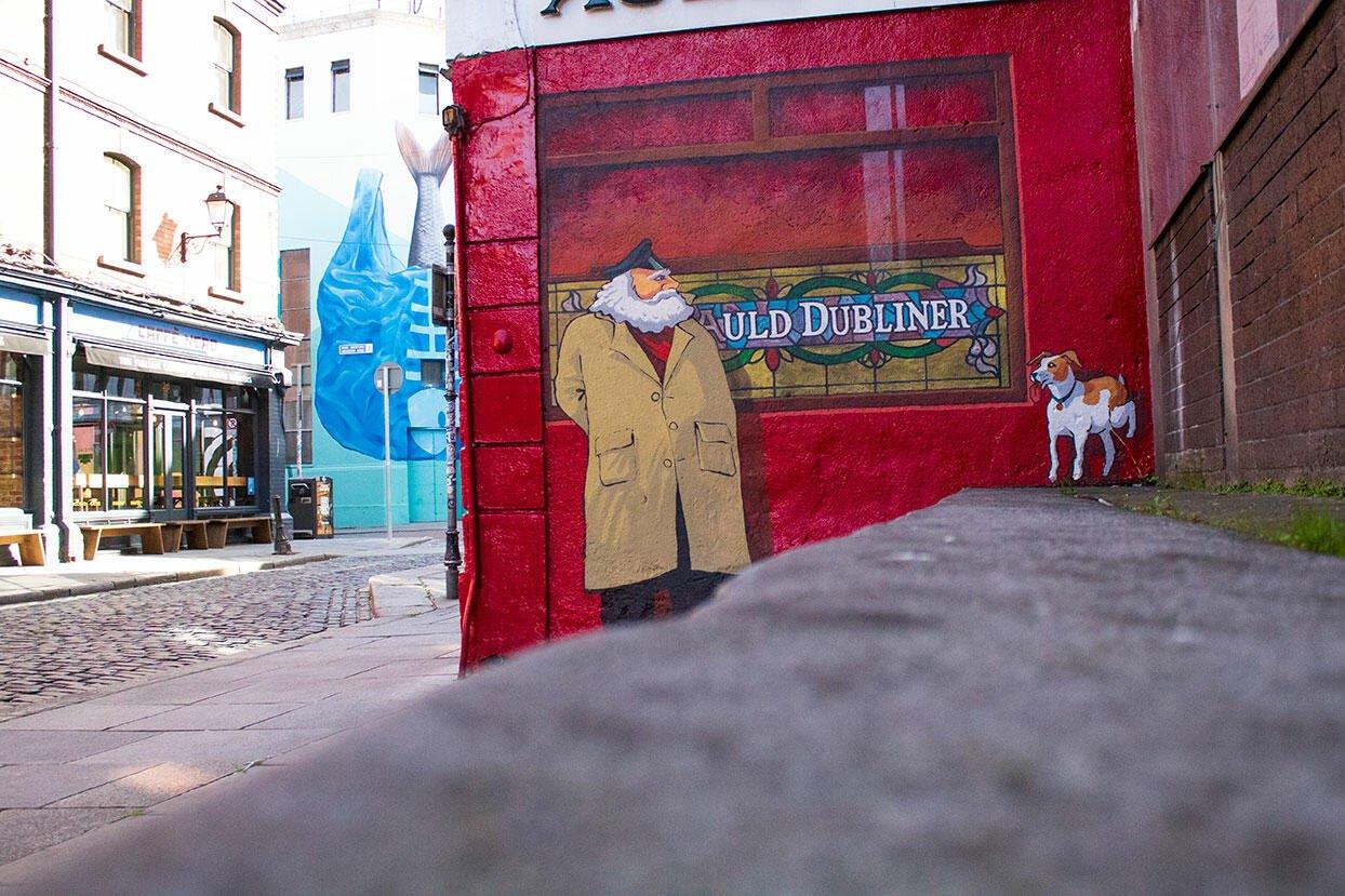 Murales - Viaggiare in Irlanda