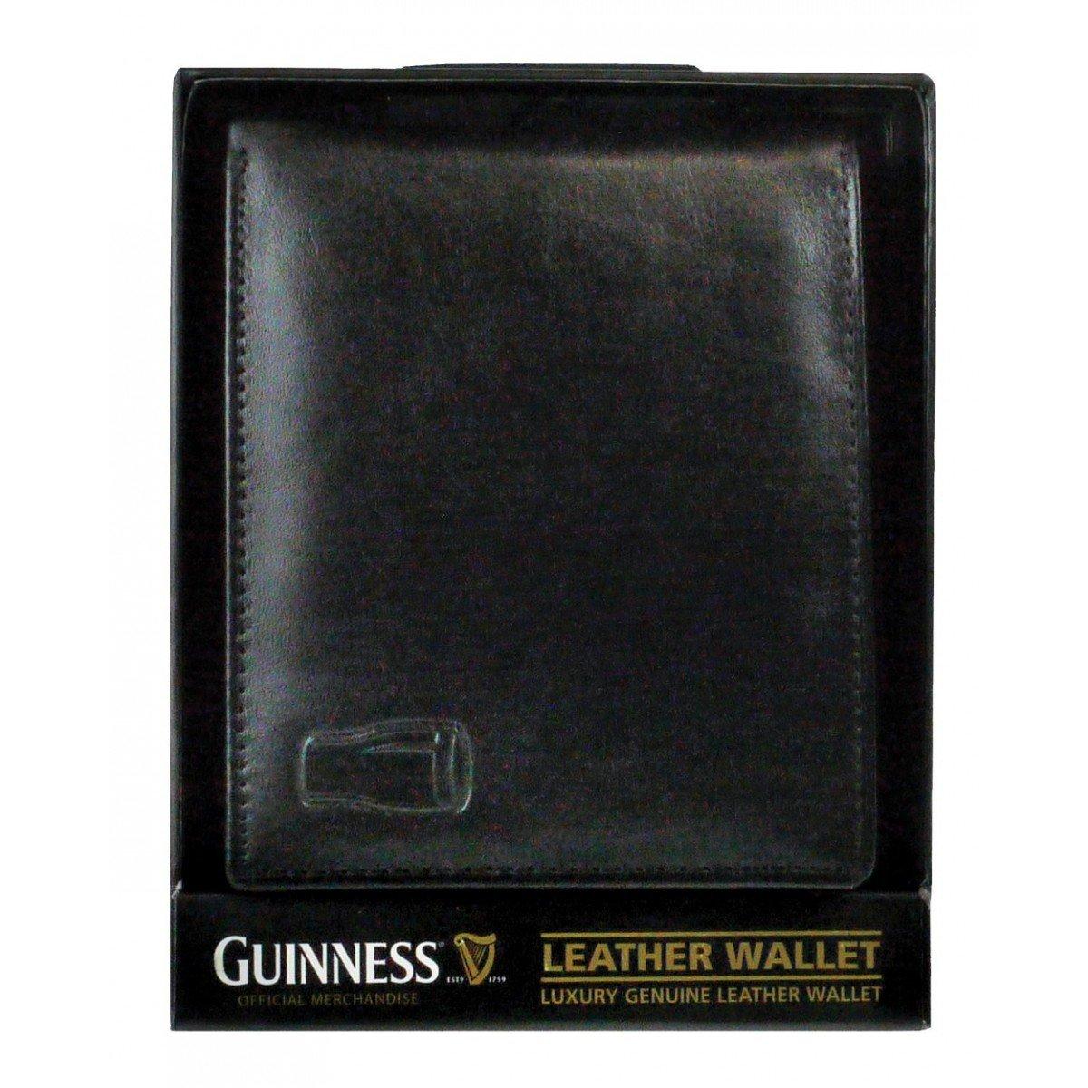 Portafoglio Guinness Classico in Pelle Nera - Viaggiare in Irlanda
