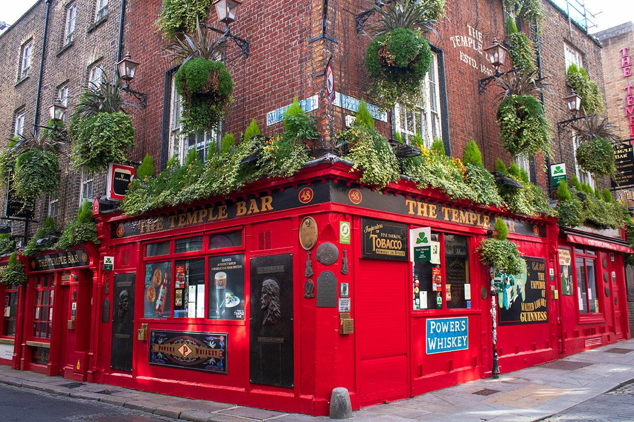 Temple Bar - Viaggiare in Irlanda