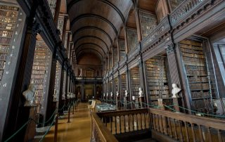 Trinity College The Long Room Viaggiare in Irlanda