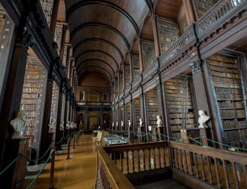 La Long Room del Trinity College
