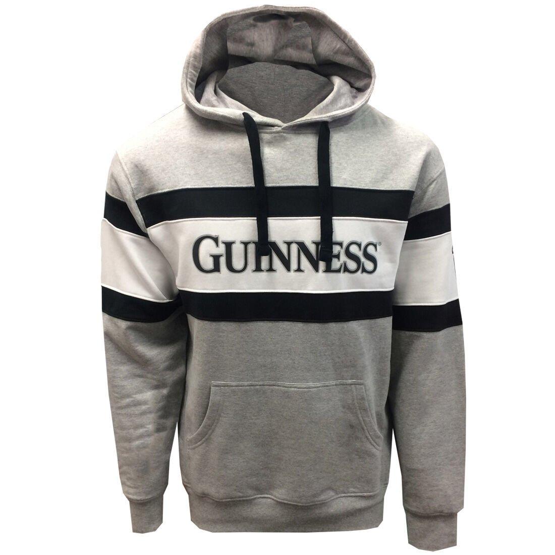 Felpa con cappuccio Guinness con logo e scritta Guinness - Viaggiare in Irlanda