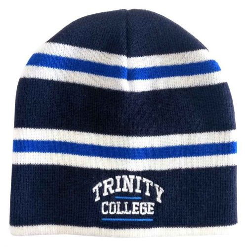 Berretto Trinity College a Striscie Blue Navy e Blue - Viaggiare in Irlanda