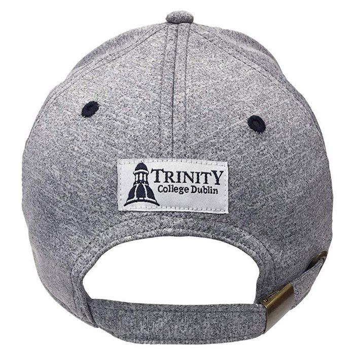Cappellino Trinity College 1592 colore Grigio e Navy - Viaggiare in Irlanda