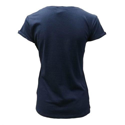 T-shirt da Donna Navy con Scritta Ireland in Stile Neon - Viaggiare in Irlanda