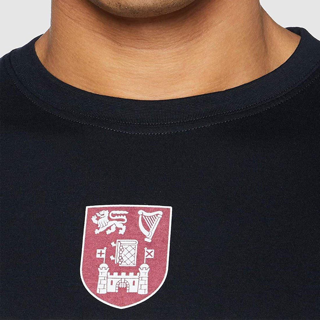 T-shirt Trinity College di colore Navy - Viaggiare in Irlanda