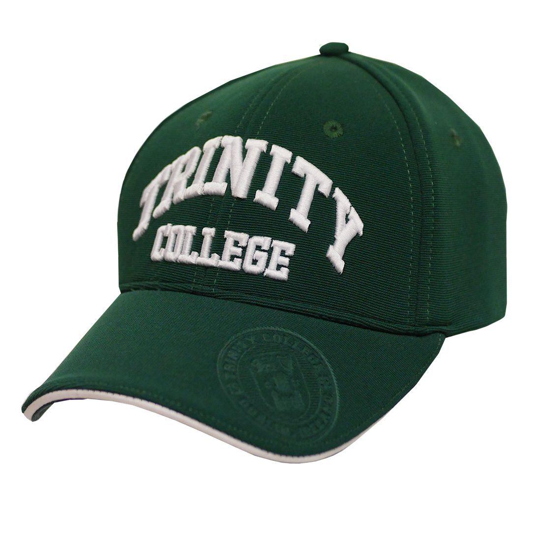 Cappellino da baseball verde Ufficiale Trinity College - Viaggiare in Irlanda