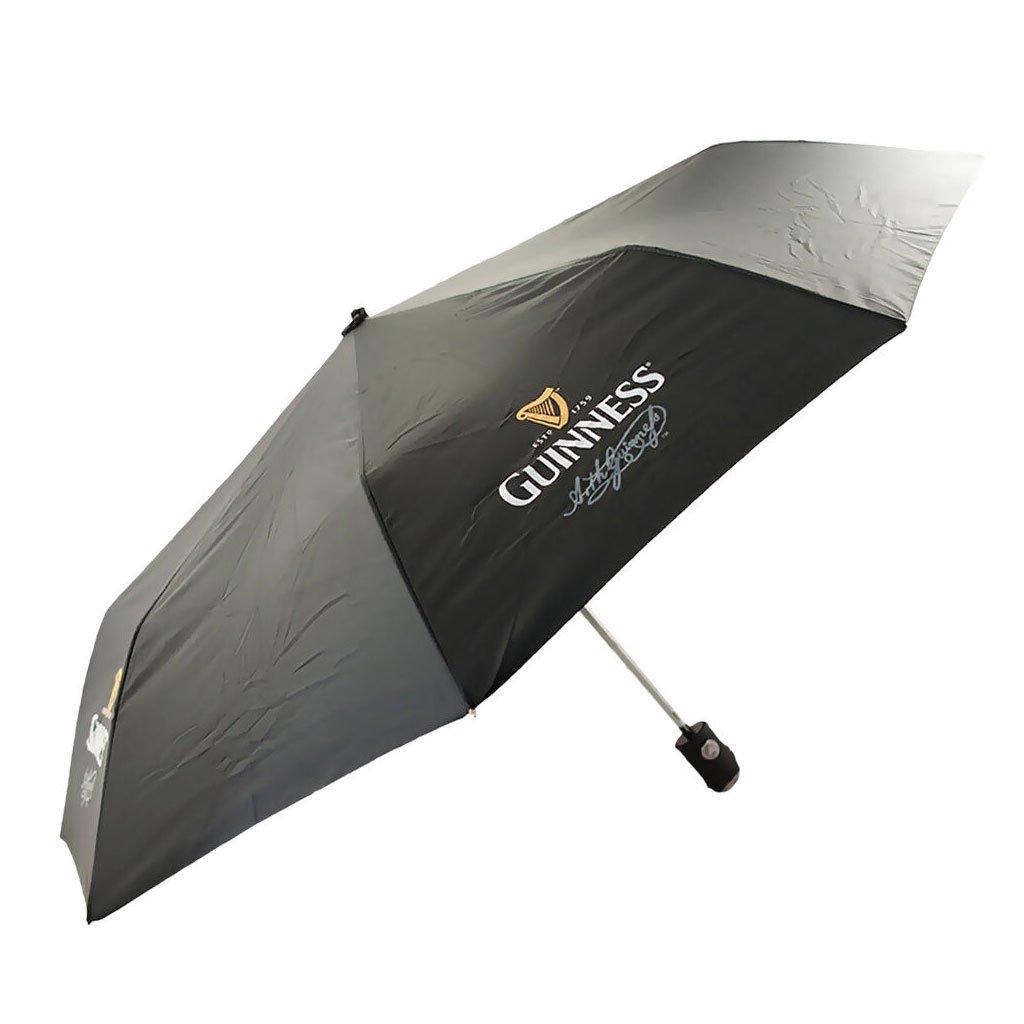 Ombrello Guinness di colore Nero con Logo Guinness - Viaggiare in Irlanda